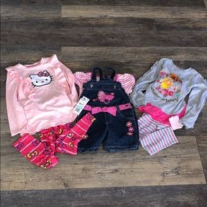 🧸5/$25🧸 5T bundle all brand new with tags